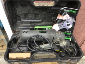 Dualsaw CS450 saw.  In box with manual