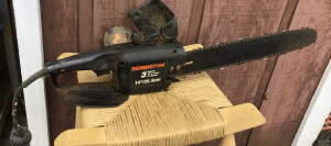 Remington 14 inch electric chainsaw