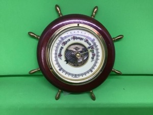 Barometer.  Made in West Germany.  7 inches tall