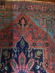 Oriental rug.  82 x 53 inches