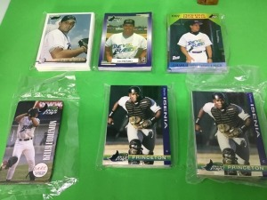 Princeton Devil Rays trading cards