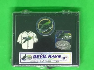Tampa Bay Devil rays 1998 pin set.   Collector