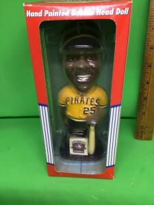 Barry Bonds Pittsburgh Pirates bobblehead in box