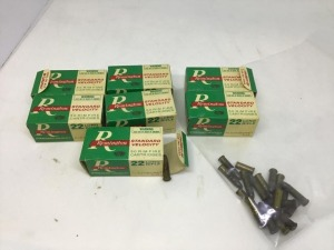 Vintage Remington 22 Long rifle cartridges