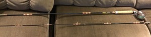 Shakespeare fly rod