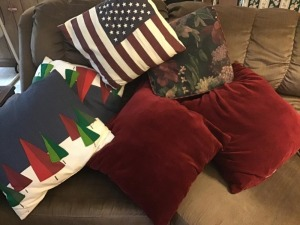 Throw pillow lot