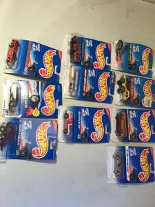 Lot ten  vintage Hot Wheels die cast
