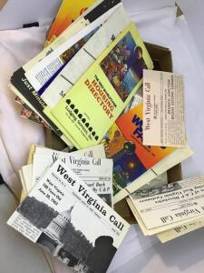 Lot ephemera